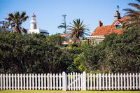 Old historic peninsula area with Lighthouse in Punta del Este, Maldonado, Uruguay