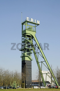 Winding tower of the former Erin Colliery