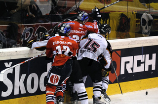 Hockey game Eisbaeren Berlin vs. SC Bern