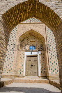 Entrance to Mazari Sherif Madrassa, Khiva