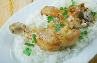 Chicken And Rice In The Slow Cooker