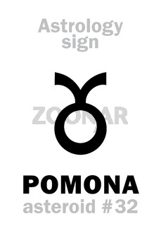 Astrology: asteroid POMONA