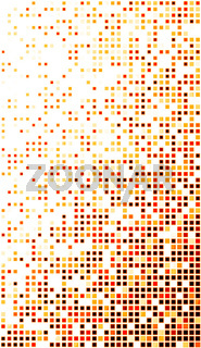 Gold Red Disco Matrix Background