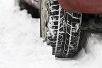 Reifen im Schnee