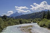 Isar river bed near Krün