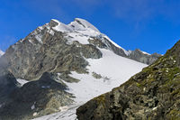 Peak Allalinhorn, Saas-Fee, Valais, Switzerland