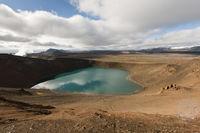 Iceland, vulcano Stóra Víti