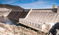 Grand Coulee Dam Hydroelectric Power Station Washington State
