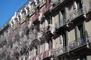 Jugendstil Architektur in Barcelona