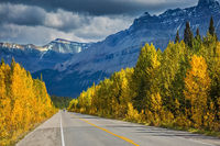 Banff National Park in the autumn