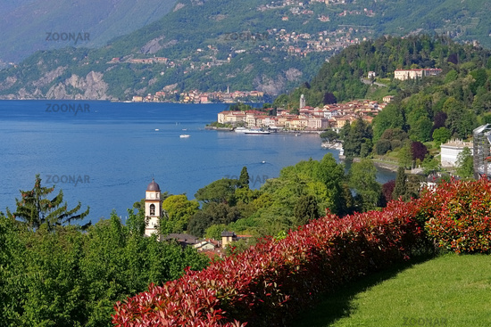 Bellagio am Comer See in Italien - Bellagio on Lake Como, Lombardy in Italy