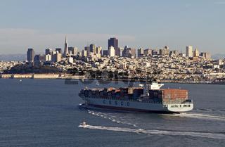 Skyline von San Francisco, Kalifornien, USA
