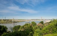 Al Zampa and Carquinez bridges carry US I80 across river