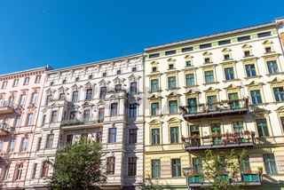 Renovierte Altbauhäuser in Berlin