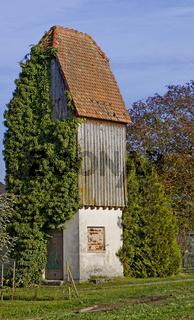 Altes Trafohäuschen auf der Insel  Reichenau am Bodensee