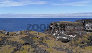 Küste bei Skarðsvík auf der Halbinsel Snæfellsnes in Island
