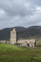 St Clement's church, built in the 13th century by the MacLeods clan