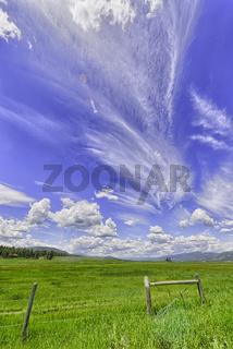 Big skies, Montana