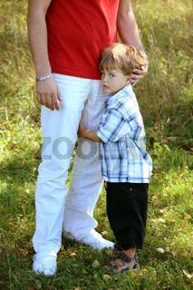 Vater mit Jungen