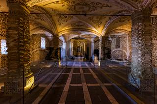 Chapel of the Bones - Evora Portugal