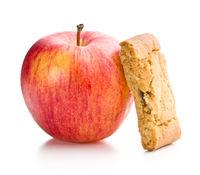 Sweet apple cookies.
