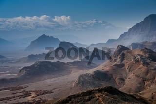 Mountain near Yazd in Iran
