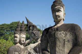 LAOS VIENTIANE XIENG KHUAN BUDDHA PARK