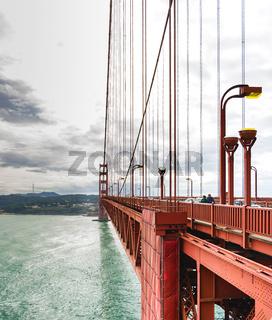 Golden Gate suspension bridge