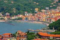 San Terenzo in Ligurien, Italien - San Terenzo in Liguria, Italy