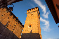 Tower of Bolognini castle