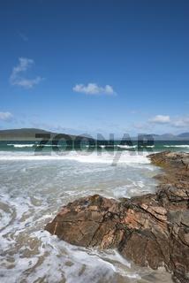 Felsenküste, Halbinsel Luskentyre, Isle of Harris