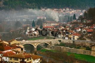 Panoramic View of Part of Veliko Tarnovo