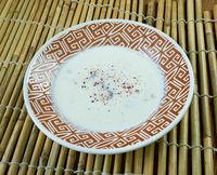 Turkish mushroom soup