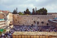 The Western Wall of the Temple