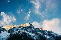 Kondge Ri mountain in Nepal