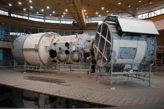International Space Station Russian Segment Mockup Descending