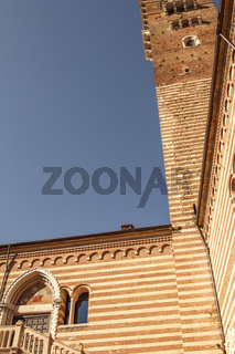 Ein Bauwerk in Verona - antike Baukunst