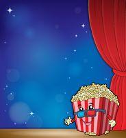 Stylized popcorn theme image 4