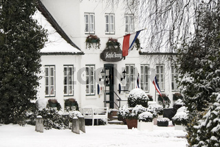 Schlie Krog in Sieseby im Winter