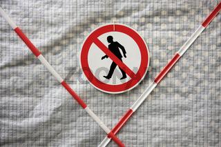 Für Bergleute verboten