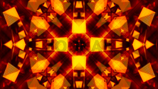 Gold abstract background textures, kaleidoscope