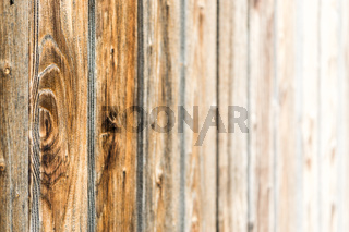 Natural brown barn wood wall. Wooden textured background pattern.