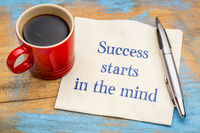 Success starts in the mind