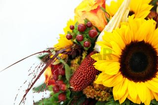 Blumenstrauss mit sonnenblume - Bouquet of flowers