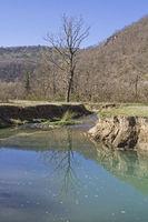 Hike along the river Mirna