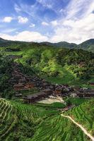 Dazhai village vertical
