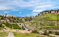 Panorama of West Jerusalem Yemin Moshe
