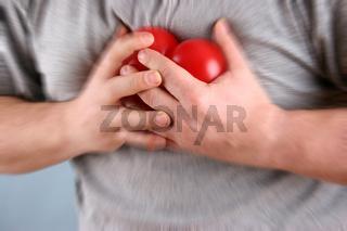 Herzbeschwerden - heart trouble