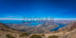 Stunning landscape of the Bay of Kotor