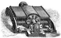 Electrical generator, dynamo, built by the Siemens  Halske, Germany, 19th century